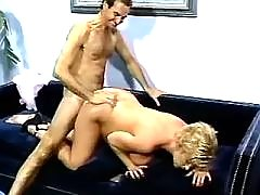 Pregnant milf gets cumload in mouth